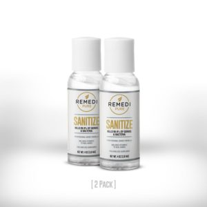 Remedi Sanitize – 4oz (2 Pack)